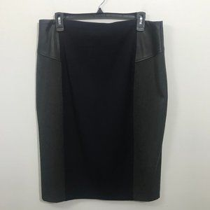 EXPRESS WOMEN'S SIZE 12 FAUX LEATHER PENCIL SKIRT
